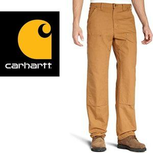 Carhartt Firm Duck Double-Front Dungaree - 46Wx32L